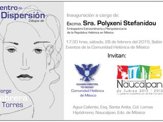 Exposición: Centro de Dispersión por el Mtro. Jorge Cabrera