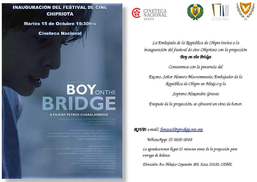 Boy on the Bridge (cartel)