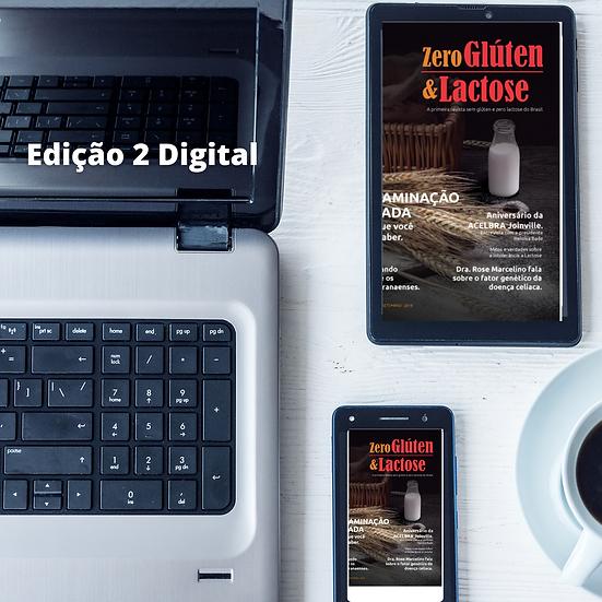 Revista Zero Glúten & Lactose - Edição 2 Digital