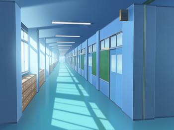 仙秋高校職員室