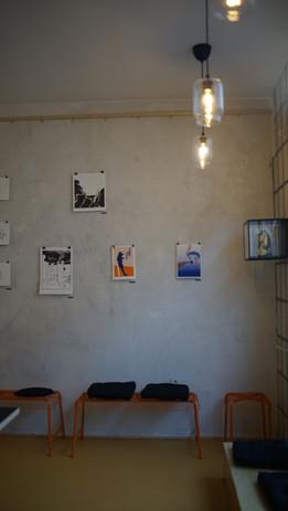 Ausstellungswand