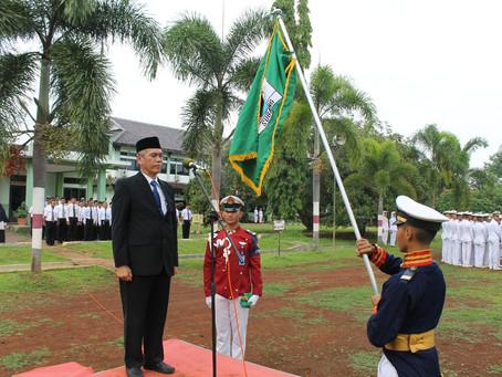 Upacara Peringatan Hari Ulang Tahun Stempert SMK Negeri 2 Subang