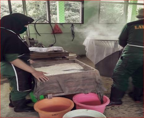 Pembelajaran Peraktik Pembuatan Tahu Ste