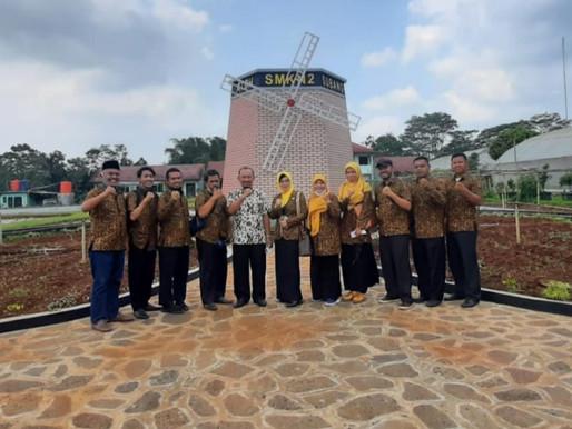 SMK Negeri 2 Subang menyambut baik kunjungan SMK Negeri 2 Indramayu untuk Study Banding
