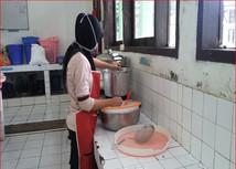 Pembelajaran Peraktik Pembuatan Nuget Ayam