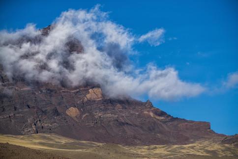Citadel in clouds