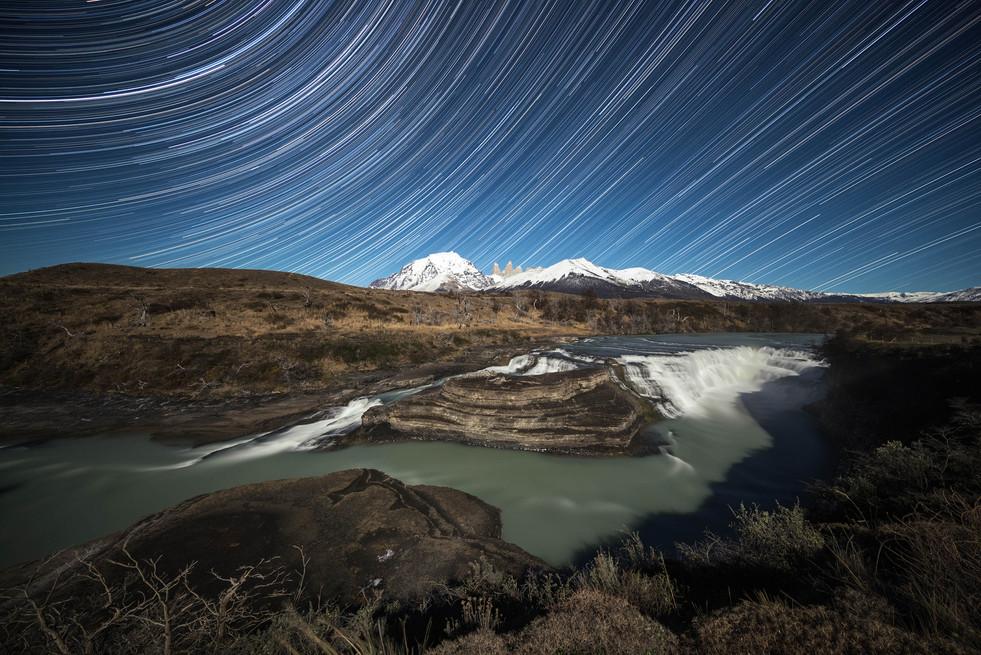 Cascada Paine trails
