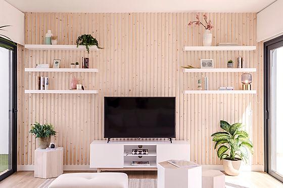 Noogar Diseñador de interiores, Villa en Fuerteventura, Estilo nórdico con madera natural