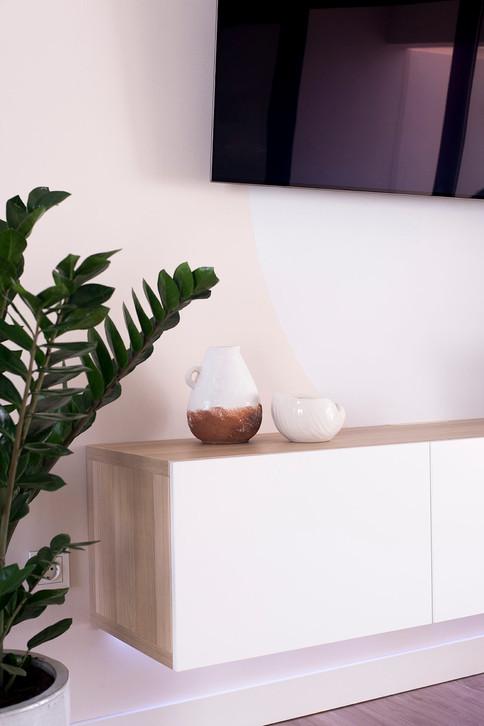 Interior design project in Villaverde, Fuerteventura