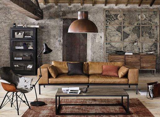 Estilo Industrial Chic para el Diseño de Interiores - Industrial Chic Interior Design