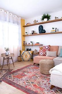 Noogar, Proyecto de interiorismo en Puerto del Rosario, Fuerteventura, Canarias, Vivienda de estilo bohemio, decoración del hogar