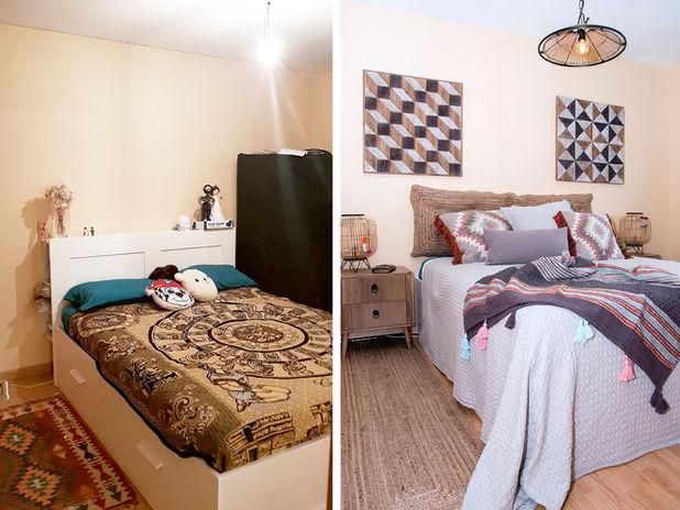 ANTES Y DESPUÉS - Proyecto de interiorismo de una vivienda en Puerto del Rosario, Fuerteventura.