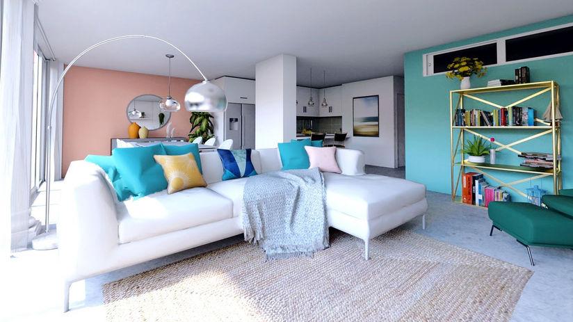 3D - Interior design project in Corralejo, Fuerteventura.