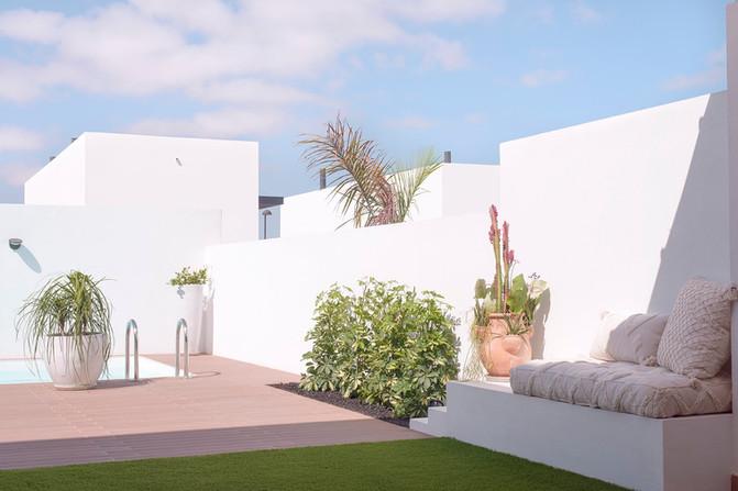 Exterior design and decoration project in Villaverde, Fuerteventura