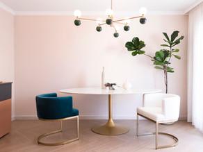 A Modern Art Deco villa in Corralejo with Spanish Colonial interior design and decorative influences