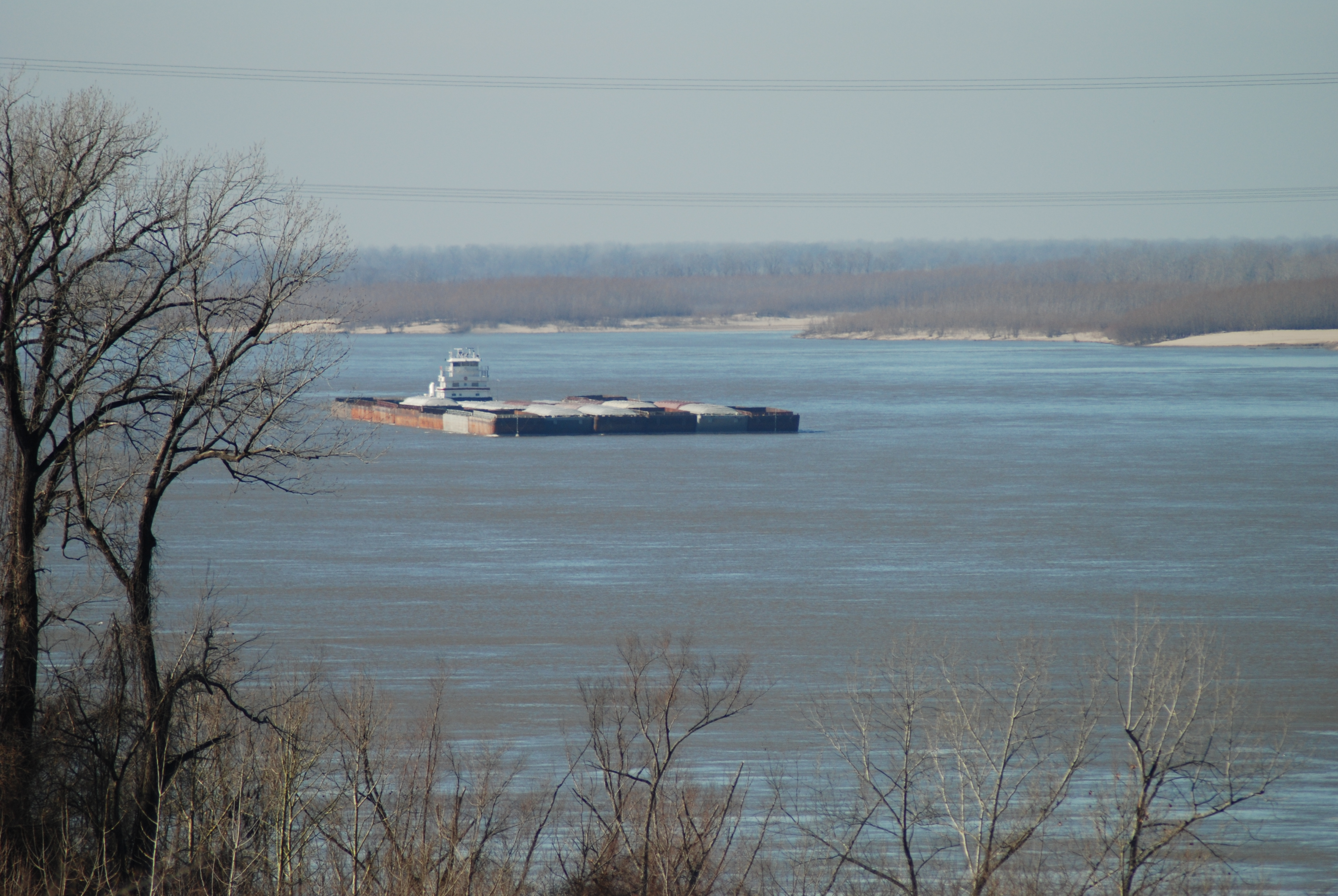 MS River Barge