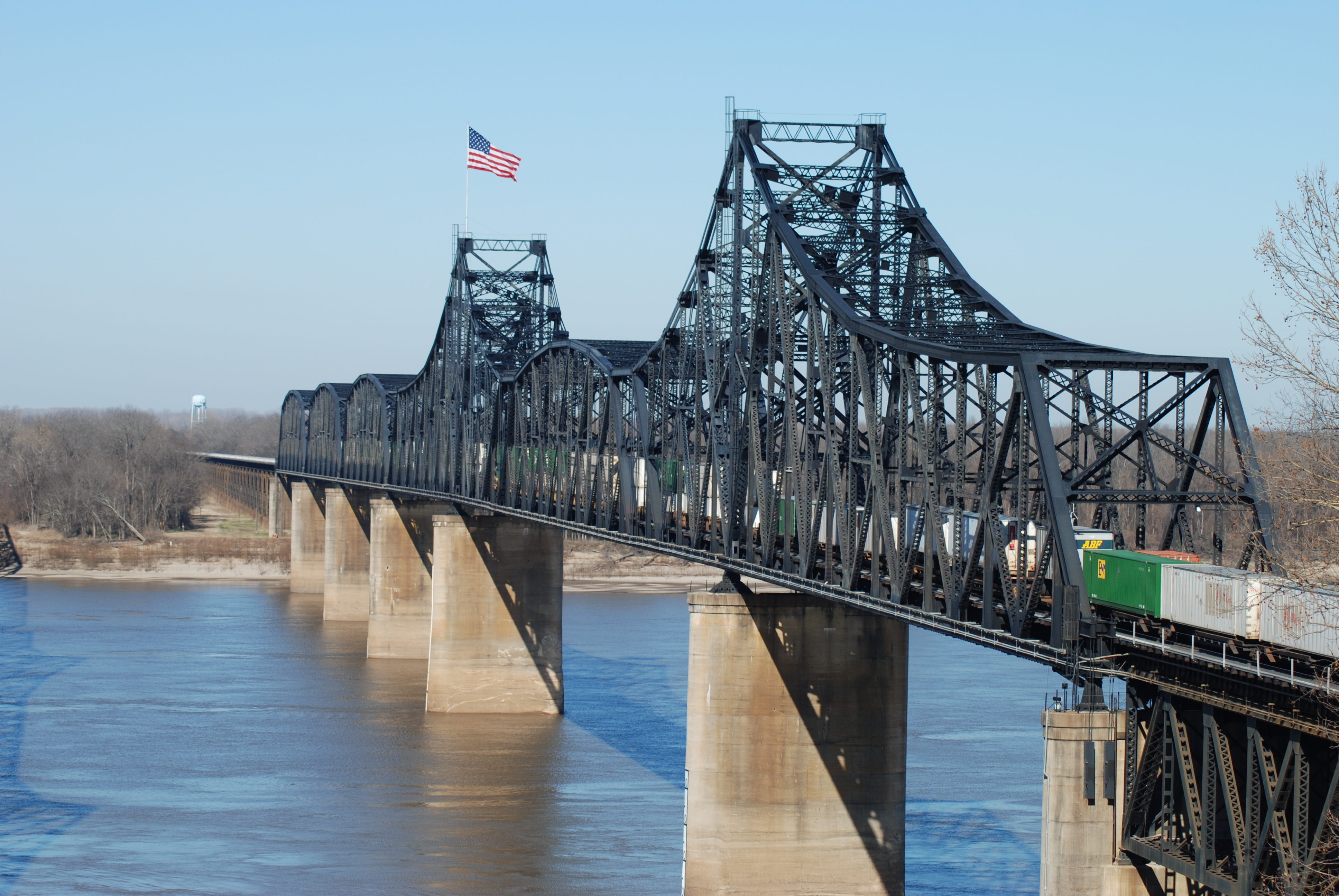 Old Vicksburg MS River Bridge