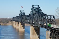 Old Vicksburg MS River Bridge