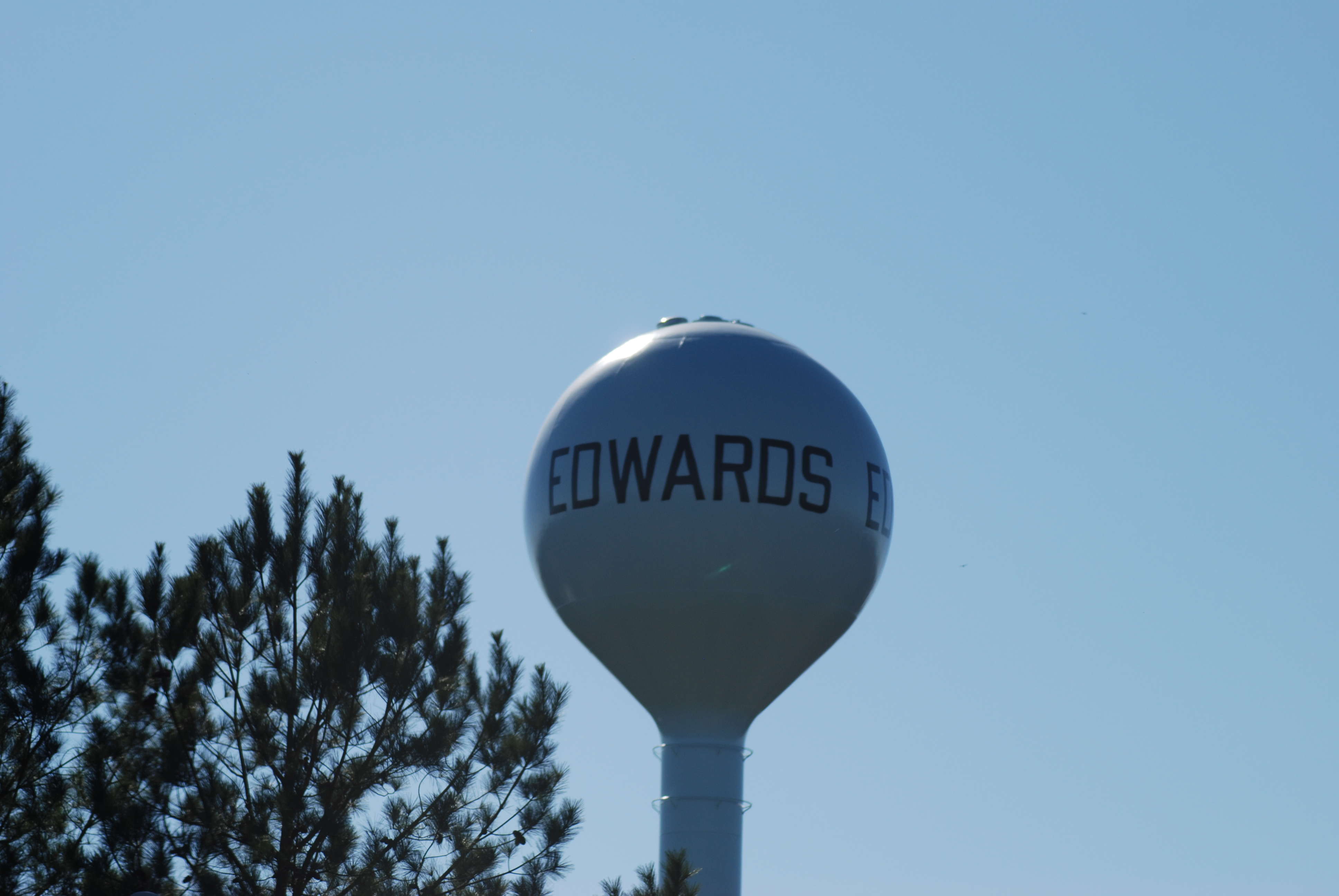Edwards New Water Tank