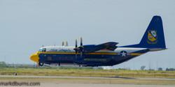 Blue Angels Transport takeoff