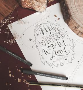 * Winter WORKSHOP(s) Handlettering! *