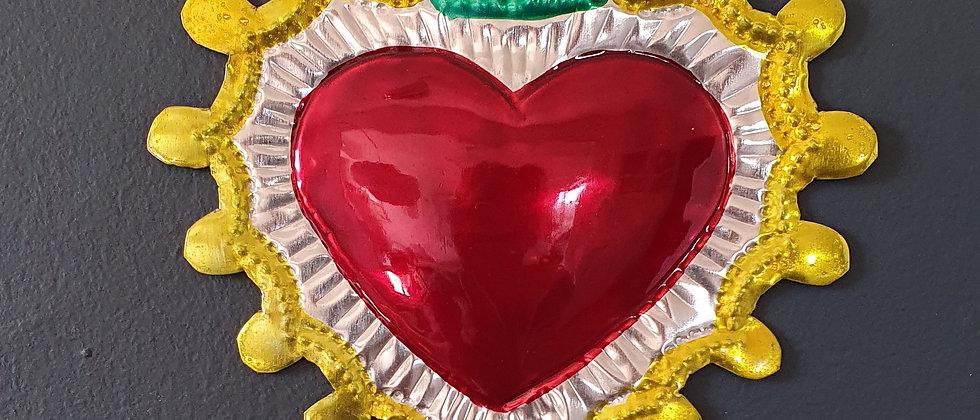Coeur Ex-voto Méxicain (#100)