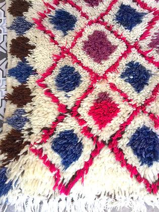 Tapis couloir AZILAL en laine