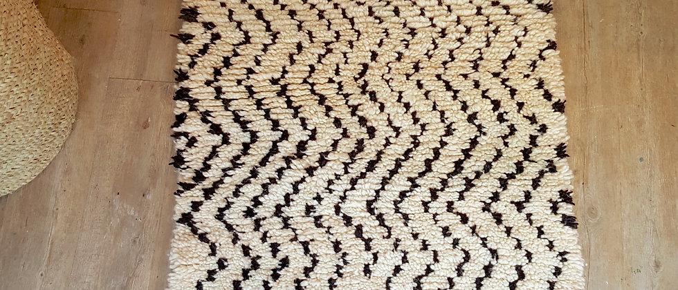 Tapis berbère BENI OUARAIN Marocain 80x150cm
