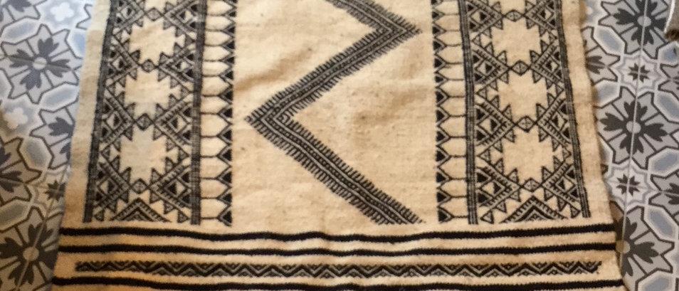 Tapis couloir berbère en laine