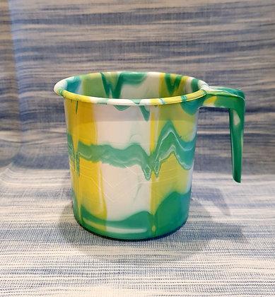 """Mug, pot ou doseur """"AFRICA"""" en plastique recyclé"""