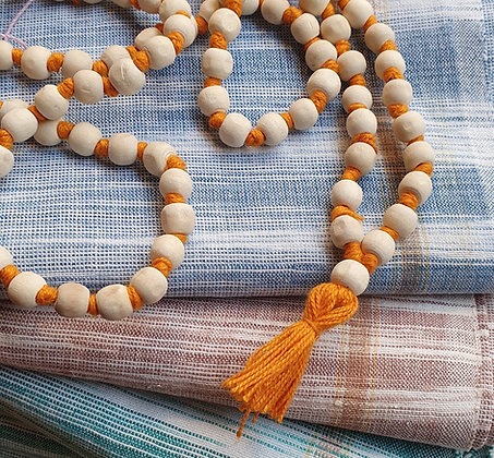 Gri-gri de temple, chapelet hindou, mala