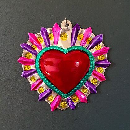 Coeur Ex-voto Méxicain (#101)