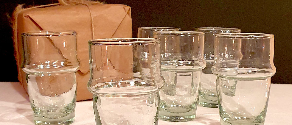 Mini verres traditionnels BELDI à expresso x6
