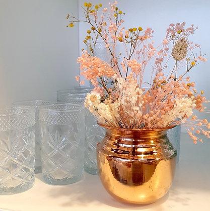 """Petit vase de temple cuivre  """"SHAKTI"""""""
