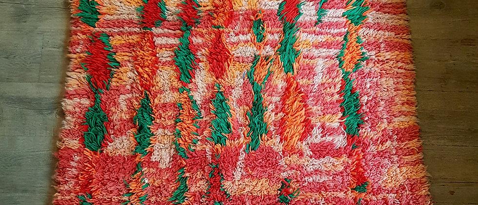 Tapis marocain vintage Azilal en laine