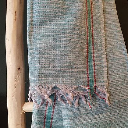 """Petite serviette """"SUN"""" en coton khadi"""
