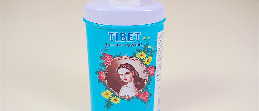 Talc TIBET parfumé à la fleur de jasmin
