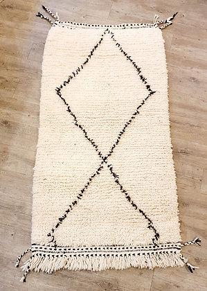 Petit tapis BENI OUARAIN authentique