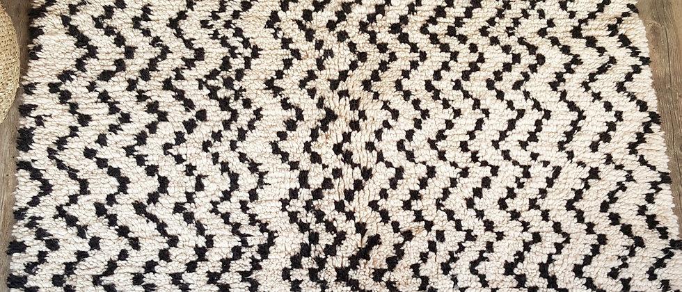 Tapis berbère BENI OUARAIN Marocain 130x200cm
