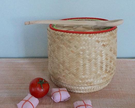 Grande boîte BAAN en feuille de cocotier naturelles
