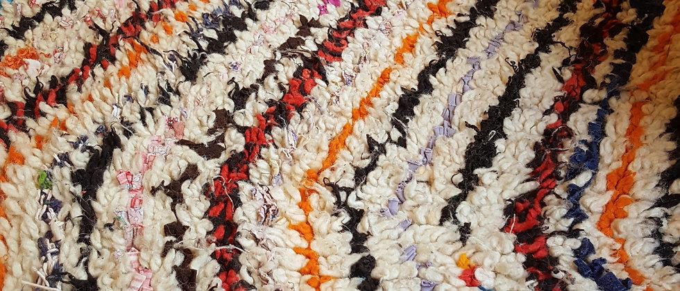 Tapis couloir vintage Azilal 100% laine