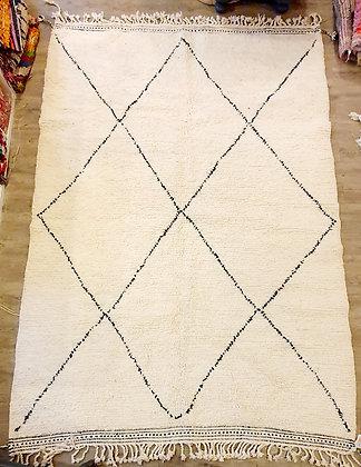 Grand tapis BENI OUARAIN 3m x 2 m authentique