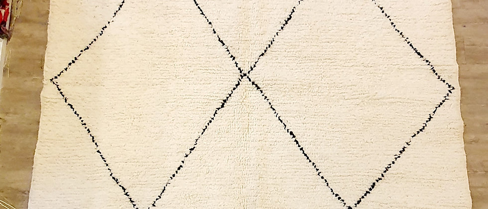 Grand tapis BENI OUARAIN authentique