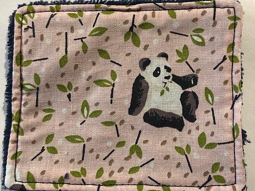 Maxi lingettes pandas roses