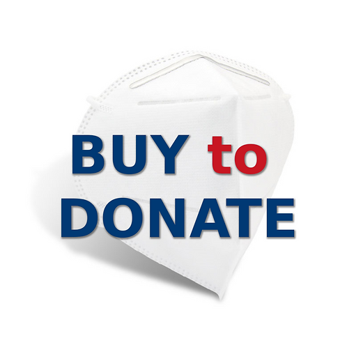 Buy to Donate - KN95 Filtering Facepiece Respirator, 10 pcs/box