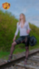 Kelly Doll's Univers Doll's rail train libertin