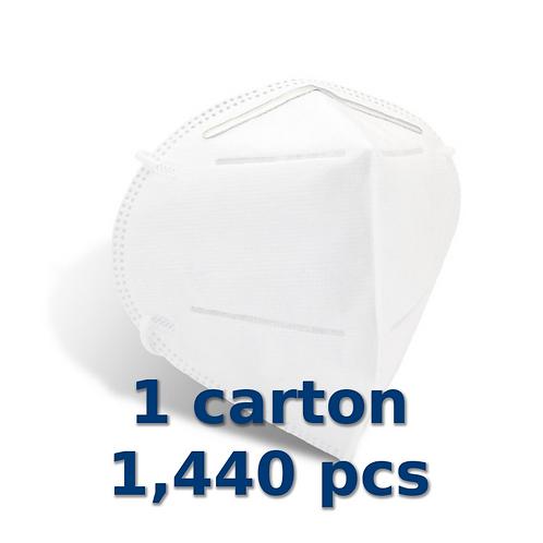 KN95 Filtering Facepiece Respirator, 144 boxes/10 pcs  $2.80/pcs