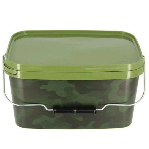 NGT Camo Square bucket