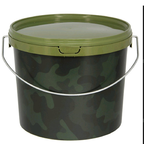NGT Camo round buckets