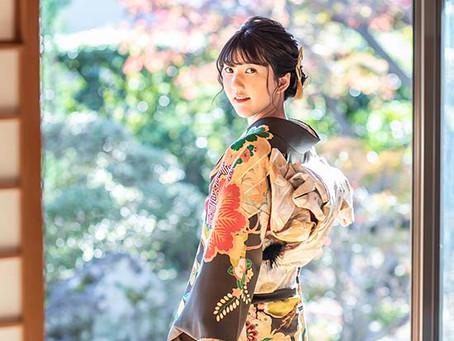 成人式前撮りと嵐山ロケ |京都 嵐山 フォトスタジオ はなを